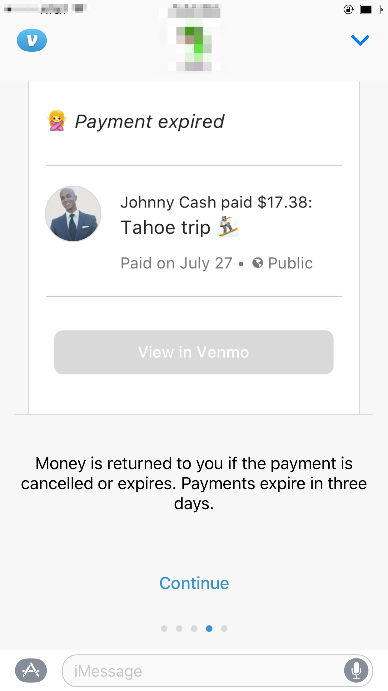 IMessage Payments How It Works Venmo - Send invoice after payment received